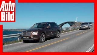 Video: Bentley Bentayga Tour Etappe 7 Videotagebuch/ Test/ Review/Probefahrt by Auto Bild