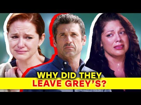 Grey's Anatomy: The Real Reasons Why Main Characters Left  ⭐OSSA