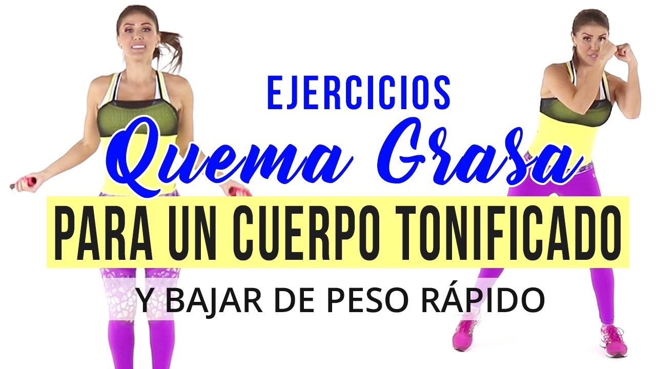 Ejercicios quema grasa para un cuerpo tonificado y bajar de peso rápido- Rutina de kickboxing