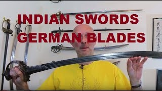 India produced some of the finest swords ever in history. Indian steel and blade making was famous for centuries and the famous 'Damascus' blades produced in the Middle East were made using Indian steel. Blade makers in India itself were equally skilled. However, huge numbers of German blades were imported into India. Why did India import and use so many German blades, particularly from the 17th to the 19th centuries?http://www.antique-swords.co.uk