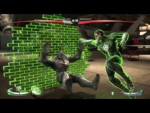 Injustice:green lantern vs doomsday