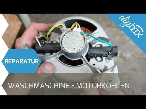 AEG Waschmaschine - Motorkohlen wechseln