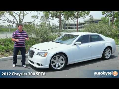 2012 Chrysler 300 SRT8: Video Road Test & Review