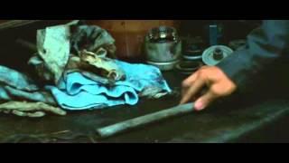 The American (2010) - suppressor making scene