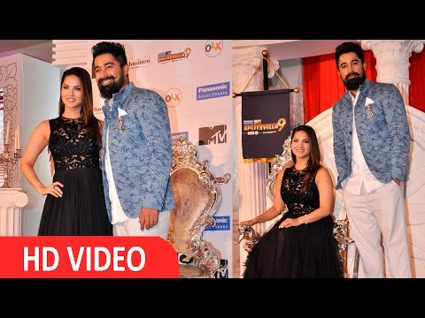 Sunny Leone & Rannvijay Singh At Launch Of MTV Splitsvilla Season 9