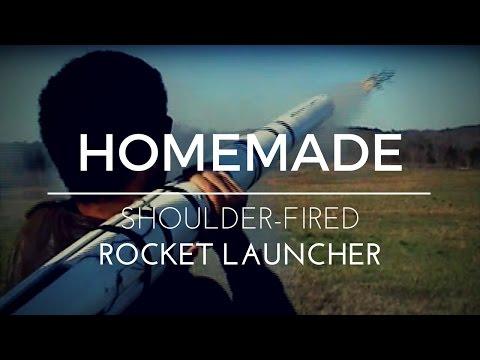 Homemade Shoulder-fired Rocket Launcher