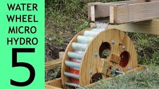 Video [Part 5 of 10] Waterwheel Microhydro, Waterwheel Installation MP3, 3GP, MP4, WEBM, AVI, FLV November 2018