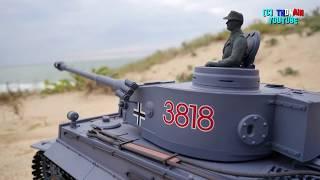 RC CAR MODELS ADVENTUR - TIGER TANK + CRAWLER + ROBOT моделирование танковый