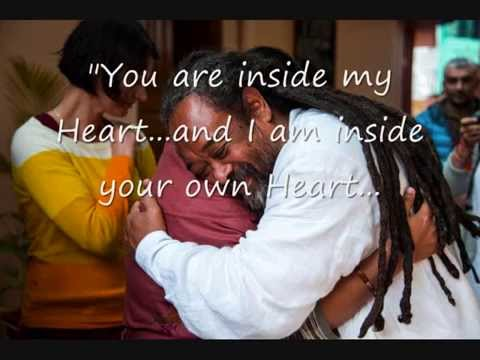 Mooji Quotes: You Are Inside My Heart and I Am Inside Yours