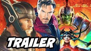 Thor Ragnarok Trailer. Doctor Strange Returns, Odin Theory, Avengers Infinity War, Hulk vs Surtur, Captain Marvel Skrulls and...
