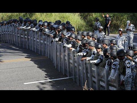 Μεξικό: Μπλόκο στους μετανάστες