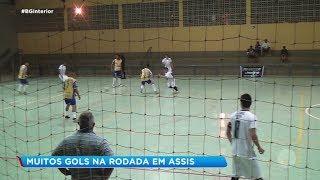 Noite de muitos gols pela Copa Record de Futsal Masculino em Assis