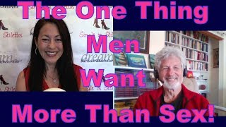 """Find out the one thing men want more than sex from Dr. Jed Diamond, Author of """"The Enlightened Marriage""""Suzanne Oshima, Matchmaker & Dating Coach at Dream Bachelor & Bachelorette & the Founder of Single in Stilettos (http://www.singleinstilettos.com) interviews Dr. Jed Diamond, Psychotherapist & Relationship AuthorGet relationship tips for women over 40 & relationship advice for women from a top dating coach for women over 40 & 50.Dating Coach for women in their 40's Dating Coach for women in their 50'sStay tuned for the next Single in Stilettos Weekly Show and get the best dating advice & dating tips!Sponsored by CupidsPulse http://www.cupidspulse.comSuzanne Oshima is a Matchmaker & Dating Coach at Dream Bachelor & Bachelorette: http://www.dreambachelor.comDating advice for women over 40. Dating advice for women over 50.Get the best dating advice for women over 40 from Dr. Jed Diamond, Psychotherapist & Relationship Coach.3 Secrets Guaranteed to Attract Any Man!Get the Free Report Now!http://www.singleinstilettos.com/m-3-secrets-attract-man-yt"""
