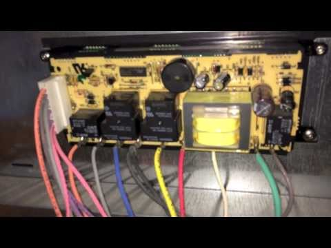 Repairing Electronic Oven Controller on Kenmore Elite Oven 790.75503