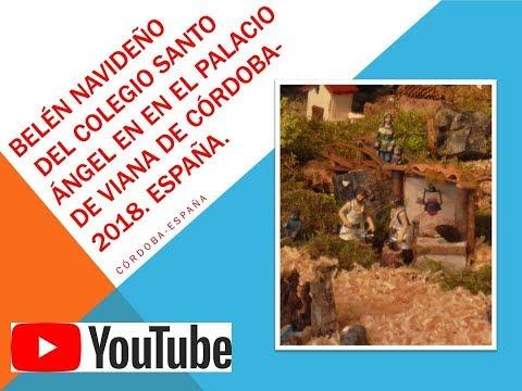 Frases celebres - BELÉN NAVIDEÑO DEL COLEGIO SANTO ÁNGEL EN EL PALACIO DE VIANA DE CÓRDOBA-2018. España.