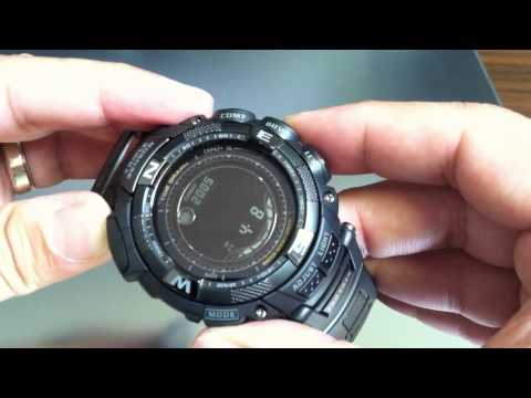 Casio Pathfinder Protrek Solar Power Watch PRG-130Y-1