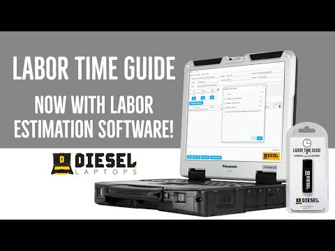 Heavy Truck Labor Time Guide now with Estimating Software from Diesel Laptops