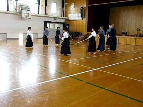 洛西剣道教室_日本剣道形