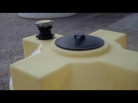 125 Gallon Vertical Crosslink Storage Tanks for Diesel Fuel or Gasoline