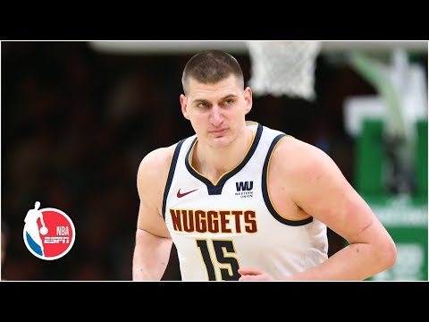 Nikola Jokic, Nuggets clinch playoffs in win over Kyrie Irving, Celtics | NBA Highlights