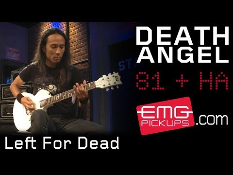 "Death Angel plays ""Left For Dead"" off their new album on EMGtv"