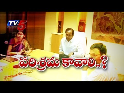 KCR Plans | Telangana Turns Industrial Corridor : TV5 News
