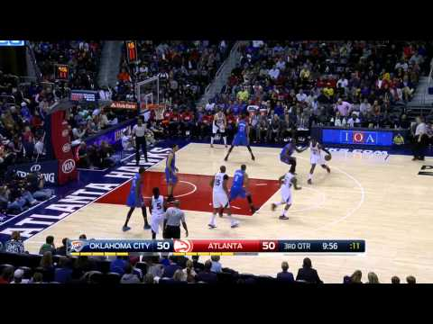 Thunder - To register to win free gear from Point 3, CLICK HERE: http://bit.ly/1sWqjZr Coach Nick used Friday's game between the Atlanta Hawks and Oklahoma City Thunder to compare and contrast these...