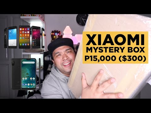P15,000 ($300) XIAOMI MYSTERY BOX UNBOXING!!! GOT A XIAOMI MI A2 AND MORE!!!