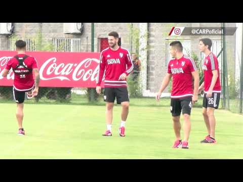 Entrenamiento en River Camp (04/04)