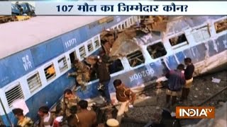 Kanpur India  city photo : Patna-Indore Train Accident: 107 Killed, 150 Injured near Kanpur