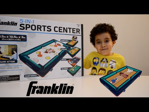Boooly Toys 9 | Unboxing Franklin 5 in 1 Sport Center Toy Set