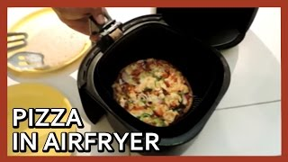 Pizza in Airfryer | Pizza at home with Airfryer | Air Fryer Pizza | Homemade Pizza Recipe