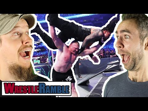 CRAZIEST WRESTLEMANIA EVER?! WWE WrestleMania 34 REVIEW! | WrestleRamble