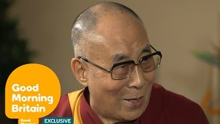Listen to the Dalai Lama Give His Take on Donald Trump, ISIS, Twitter and Take a Selfie