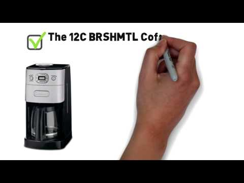 Cuisinart 12 cup BRSHMTL Coffee Maker Review