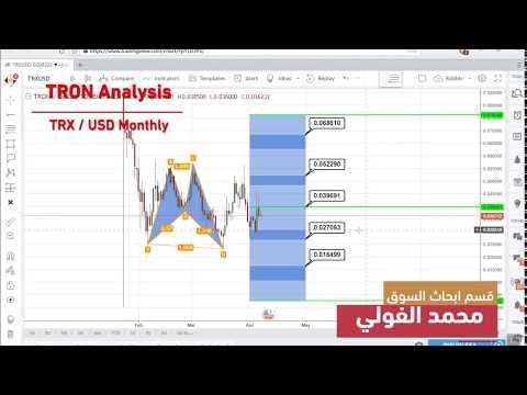 تحليل TRON 7-4-2018 TRX USD