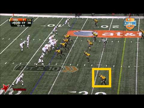 EJ Gaines vs Oklahoma St. 2014 (Cotton Bowl) video.
