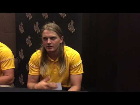 Josh Allen, Andrew Wingard speak at Mountain West Football Media Summit (видео)