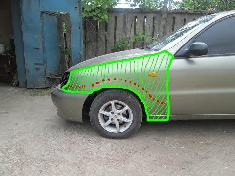 Покраска автомобиля с переходом своими руками
