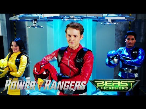 Power Rangers Official | Blaze and Roxy: Original Power Rangers | Beast Morphers E18