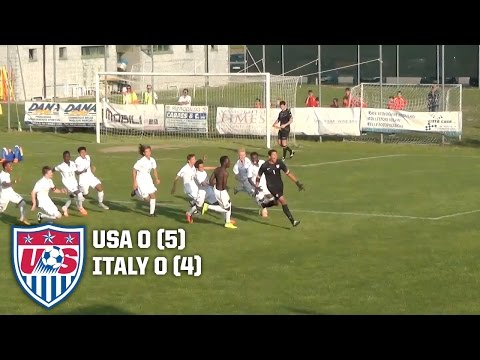 U-15 BNT vs. Italy: Highlights - April 29, 2015