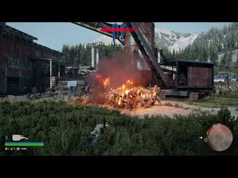 days gone defeat horde the old sawmill in Stealth way. Thank you PSN for platinum trophy reward