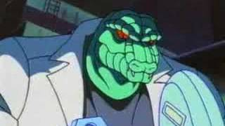 90's Spiderman Cartoon Episode 1 Part 2 Night Of The Lizard