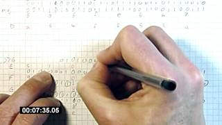 Mining Bitcoin with pencil and paper