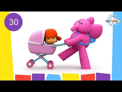 POCOYO WORLD: Elly's Doll (EP30)  30 Minutes with close caption