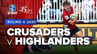 Crusaders v Highlanders Rd.4 2020 Super rugby video highlights   Super Rugby Video Highlights