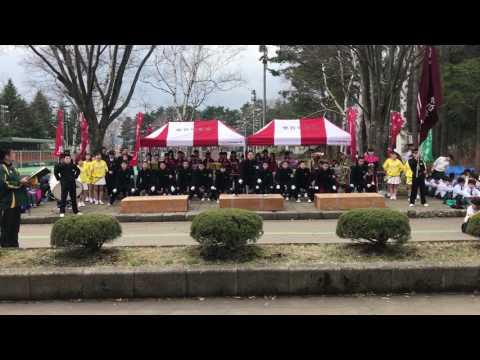 2017雫石中学校応援団