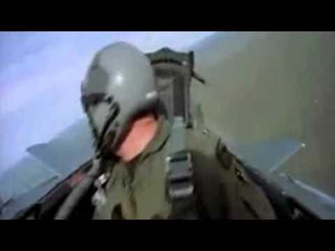 ufo avvistato da un pilota di caccia in volo