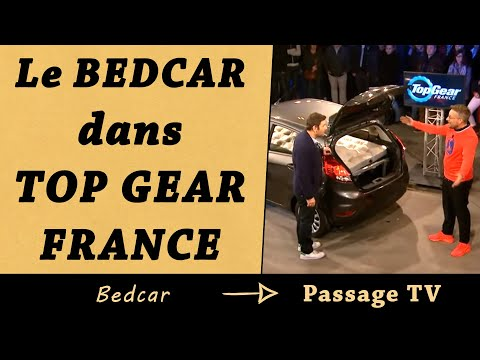Bedcar dans Top Gear France