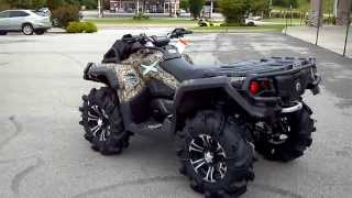 9. 2014 CAN-AM OUTLANDER 1000 MUD RACER CAMO FOX SHOCKS POWER STEERING @ ALCOA GOOD TIMES